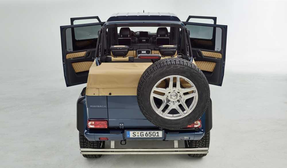 Lo dien sieu xe Mercedes-Maybach G650 Landaulet sang trong hinh anh 10