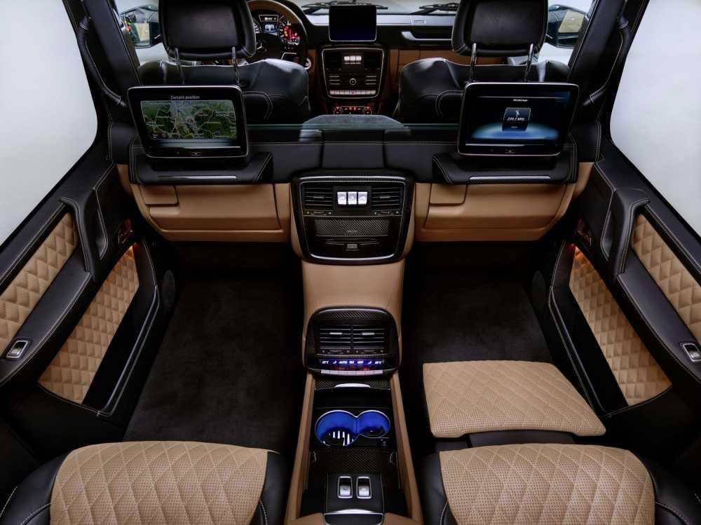 Lo dien sieu xe Mercedes-Maybach G650 Landaulet sang trong hinh anh 3