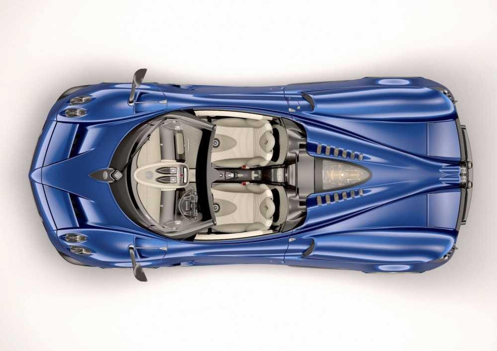 'Than gio' Pagani Huayra Roadster lam fan ban loan hinh anh 10