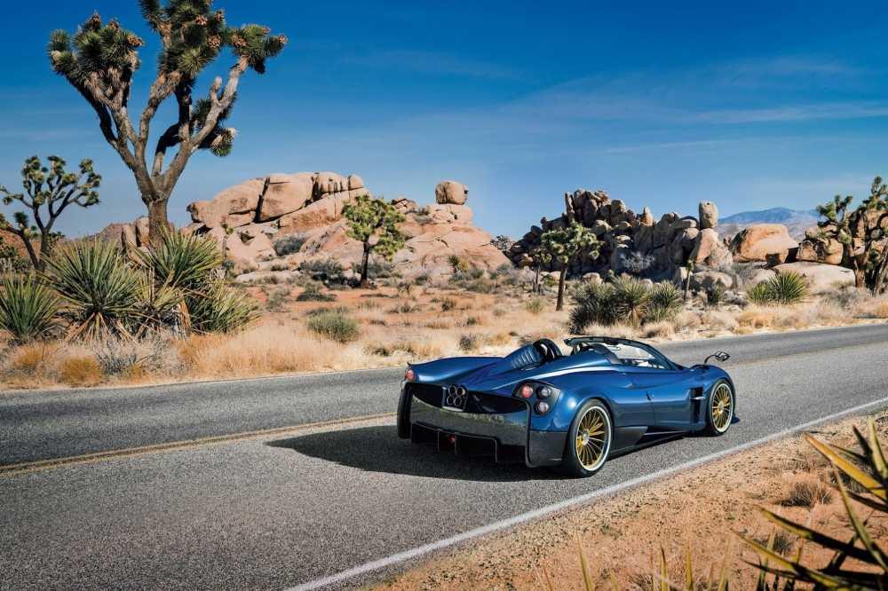 'Than gio' Pagani Huayra Roadster lam fan ban loan hinh anh 1