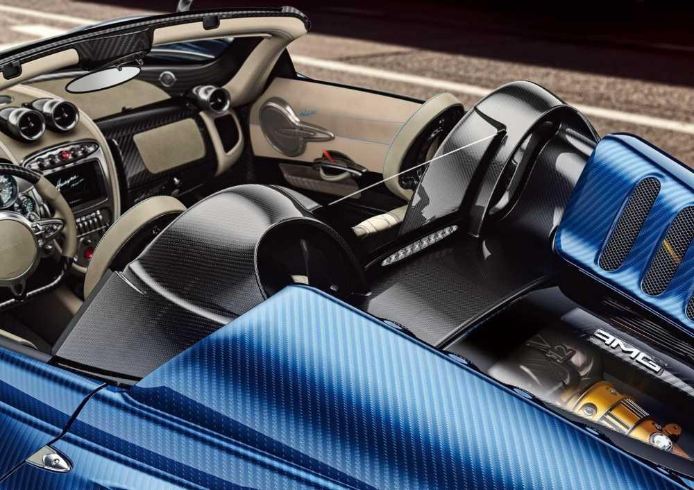 'Than gio' Pagani Huayra Roadster lam fan ban loan hinh anh 8