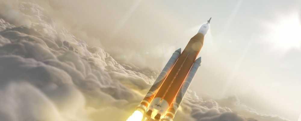 NASA se dua con nguoi vao khong gian bang ten lua manh nhat lich su hinh anh 1
