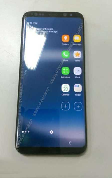 Anh chup 'len' Samsung Galaxy S8 khi dang hoat dong hinh anh 1