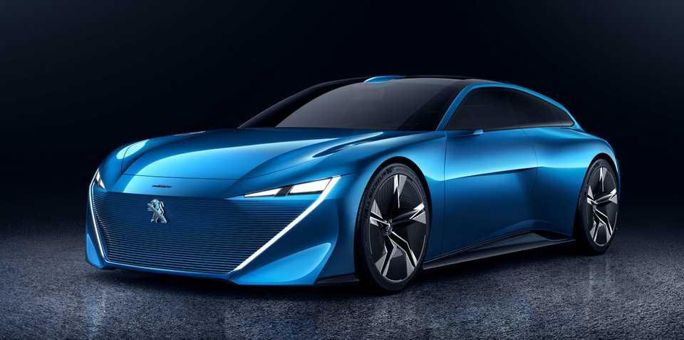 Peugeot Instinct Concept dep 'tao bao' truoc them ra mat hinh anh 1