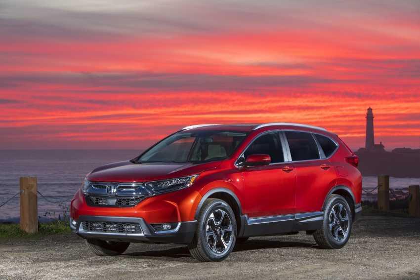Honda CR-V 2017 lo dien voi ngoai hinh 'tao bao' hinh anh 3