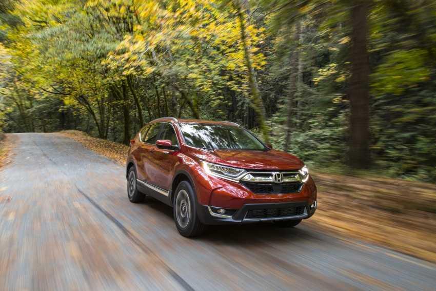 Honda CR-V 2017 lo dien voi ngoai hinh 'tao bao' hinh anh 2