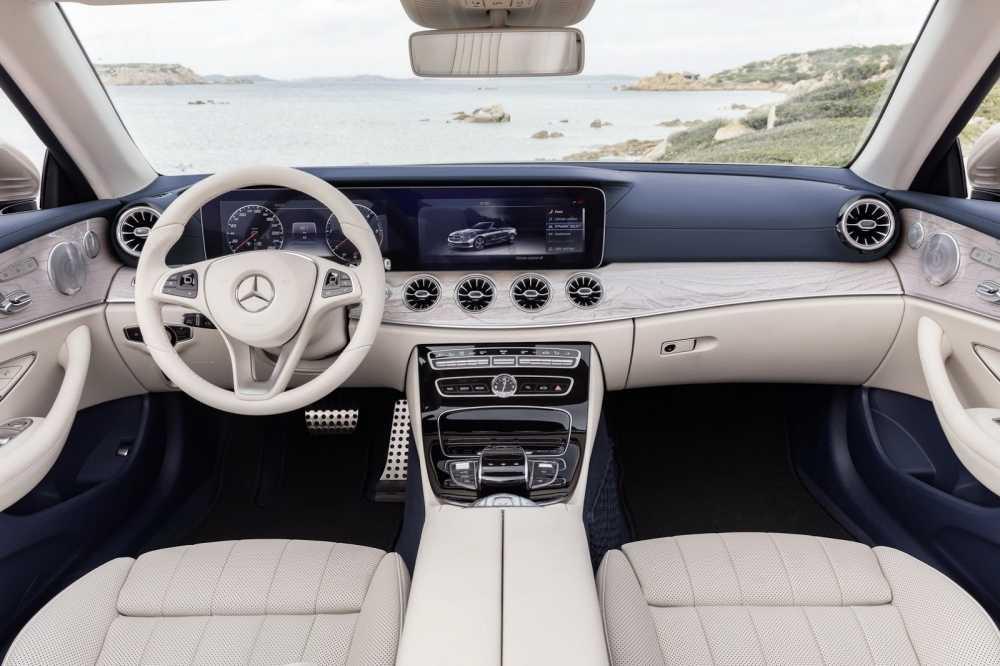 Ngam sieu xe mui tran Mercedes-Benz E-Class 2018 dep sang trong hinh anh 4