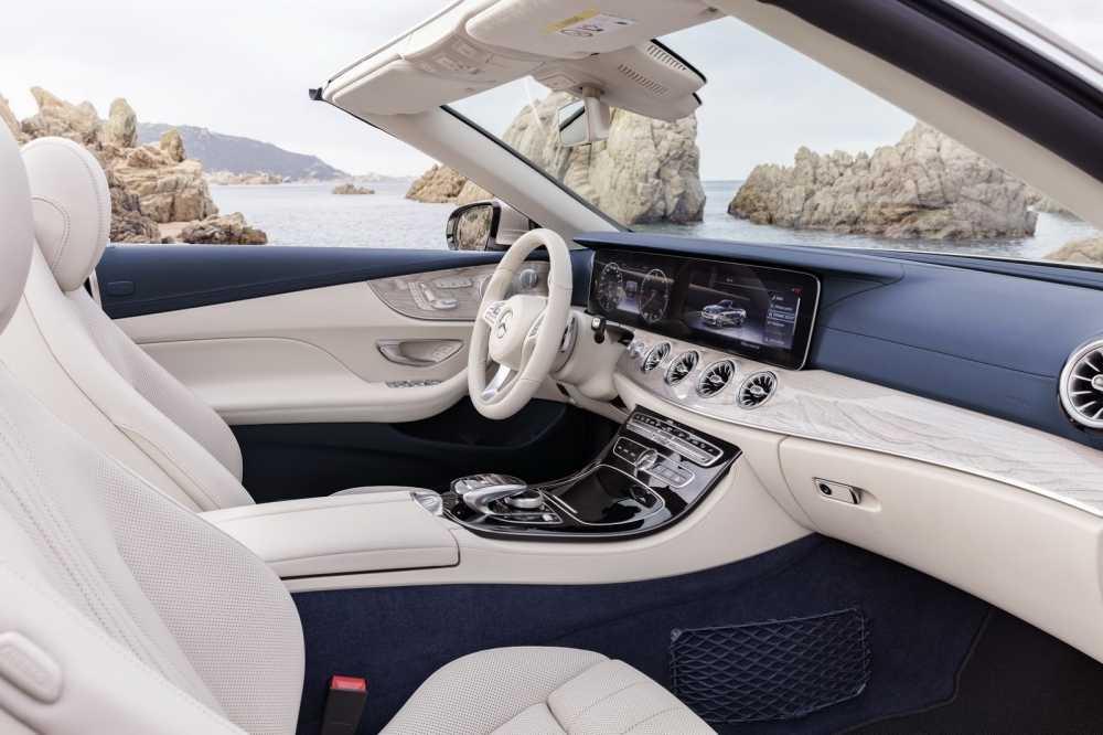 Ngam sieu xe mui tran Mercedes-Benz E-Class 2018 dep sang trong hinh anh 3