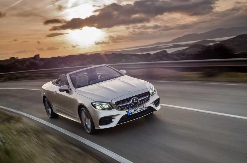 Ngam sieu xe mui tran Mercedes-Benz E-Class 2018 dep sang trong hinh anh 1