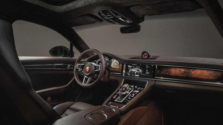 Porsche trinh lang Panamera Sport Turismo la mat hinh anh 4