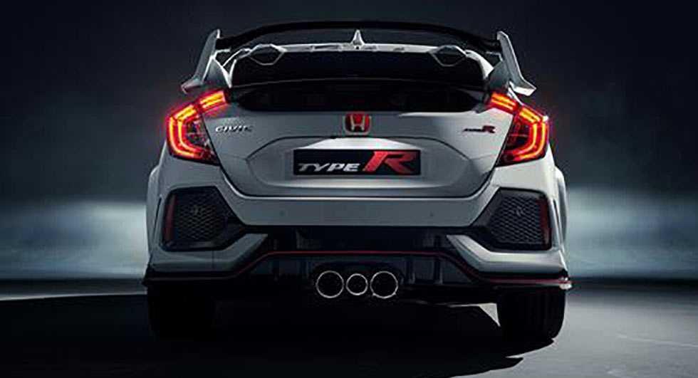 Honda Civic Type R 2018 dep 'huyen bi' truoc ngay ra mat hinh anh 1