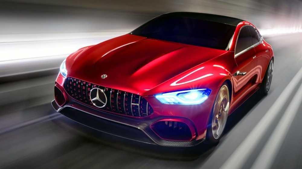 Xe Mercedes-AMG GT khong duoc trang bi he thong guong chieu hau? hinh anh 1