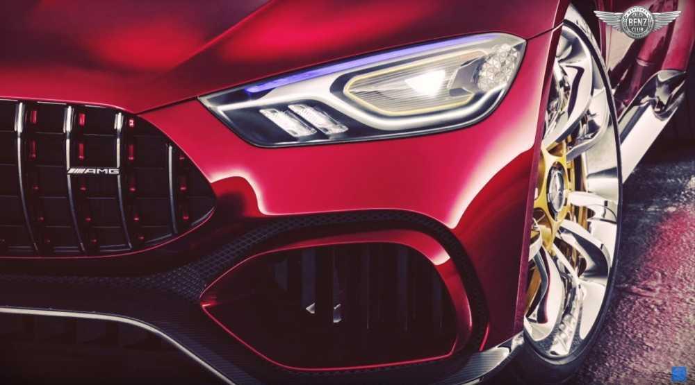 Xe Mercedes-AMG GT khong duoc trang bi he thong guong chieu hau? hinh anh 2