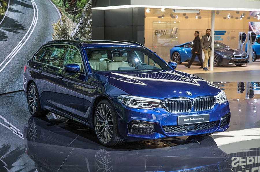 Man nhan voi sieu pham BMW 5-Series Touring 2017 hinh anh 1