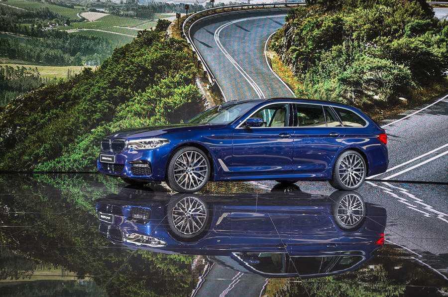 Man nhan voi sieu pham BMW 5-Series Touring 2017 hinh anh 2