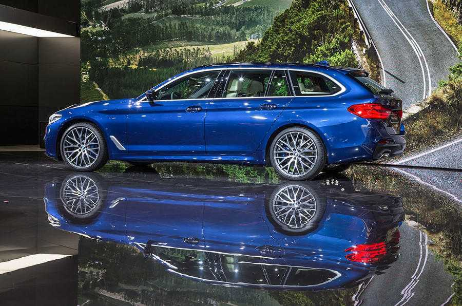 Man nhan voi sieu pham BMW 5-Series Touring 2017 hinh anh 3