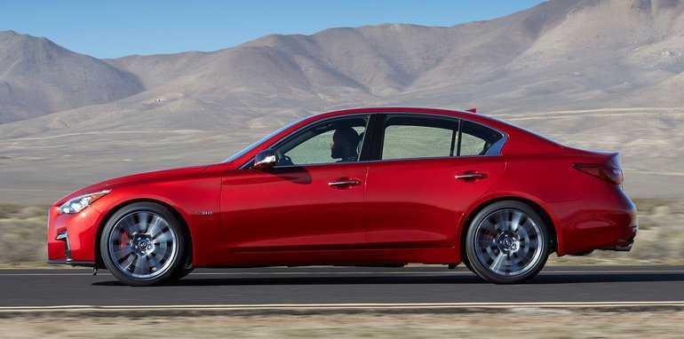 Ngam sedan Infiniti Q50 2018 thanh lich hinh anh 1