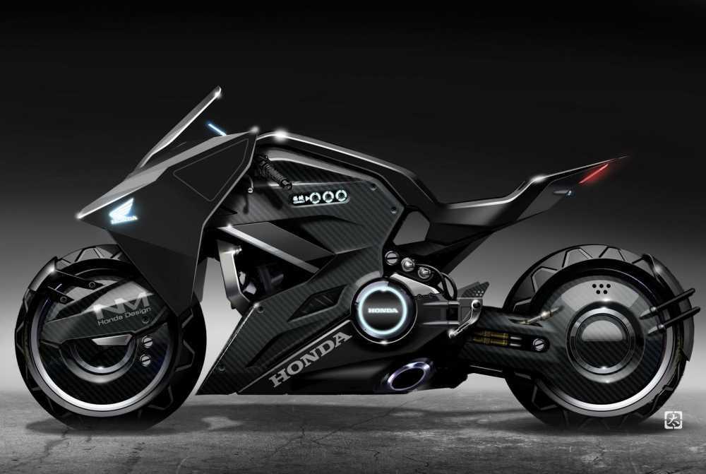 Lo anh xe motor Honda NM4 Concept 'ham ho' truoc ngay ra mat hinh anh 1