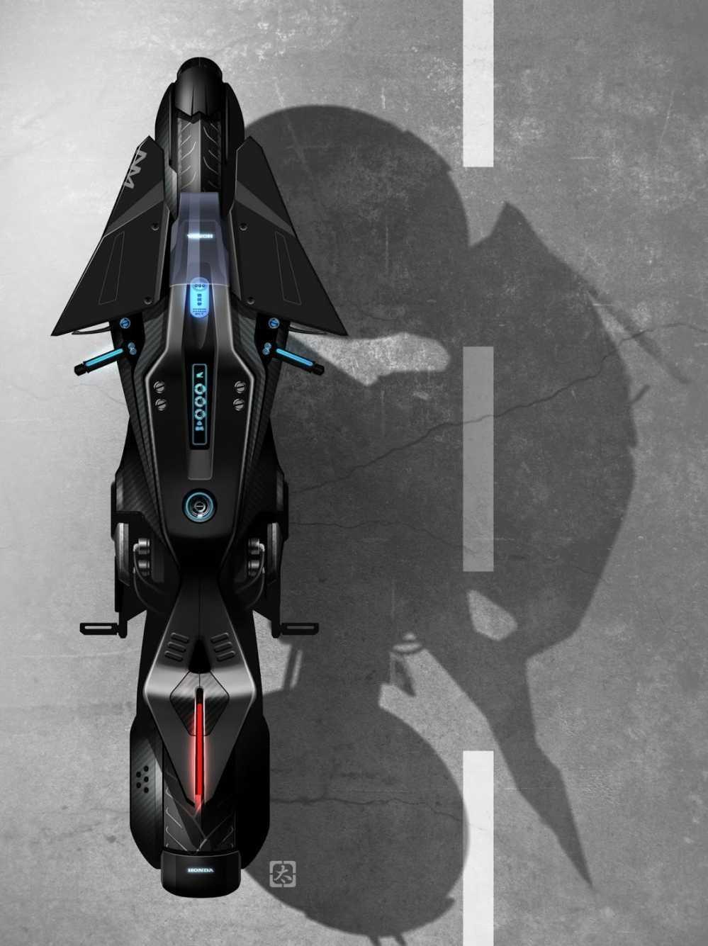Lo anh xe motor Honda NM4 Concept 'ham ho' truoc ngay ra mat hinh anh 2