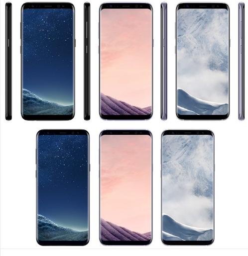 Ro ri anh Samsung Galaxy S8 'vo cuc' voi 3 gam mau tuyet dep hinh anh 2