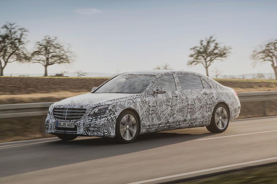 Mercedes-Benz S-Class 2018 dep sang trong tren duong thu nghiem hinh anh 1