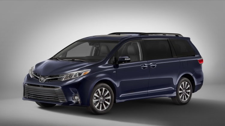 Toyota Sienna 2018, mau xe gia dinh ly tuong lo dien hinh anh 1