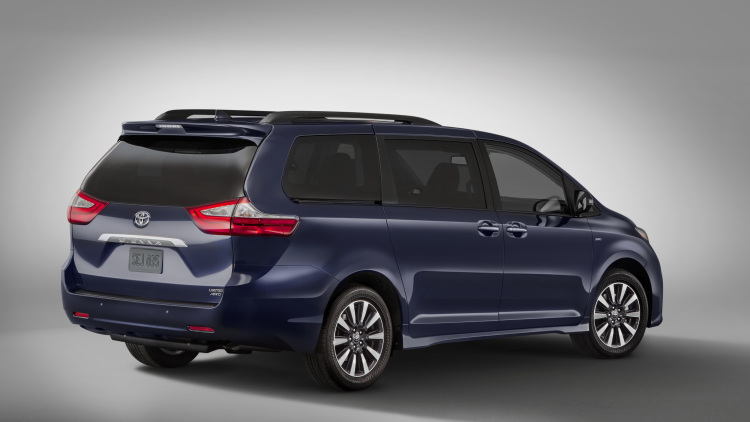Toyota Sienna 2018, mau xe gia dinh ly tuong lo dien hinh anh 2