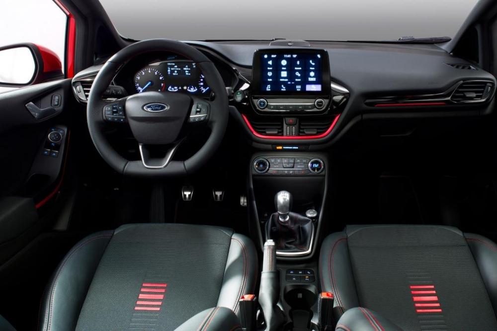 Ford Fiesta 2017 lo dien phien ban hang sang hinh anh 4