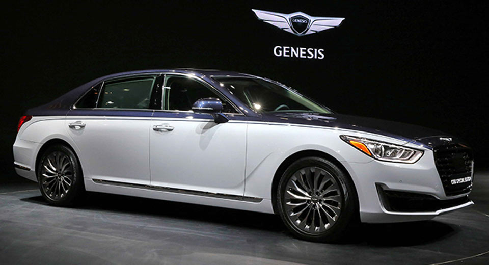 Can canh sieu xe Genesis G90 Special Ediiton 2 tong mau doc dao hinh anh 4