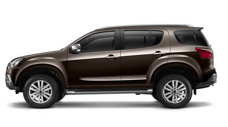 Lo thong so mau SUV Isuzu MU-X 2017 truoc ngay ra mat hinh anh 2