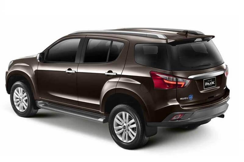 Lo thong so mau SUV Isuzu MU-X 2017 truoc ngay ra mat hinh anh 3