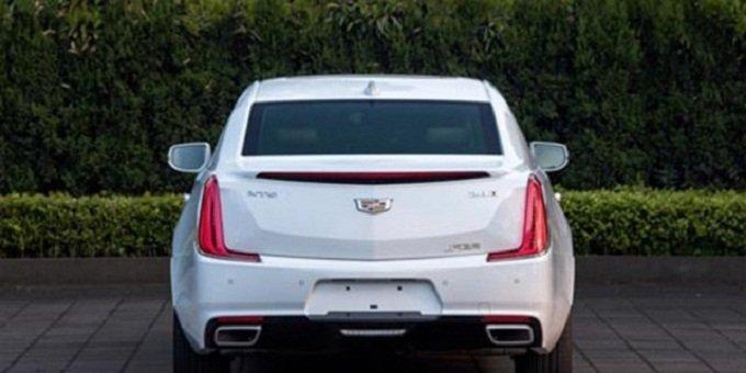 Can canh chiec sedan sang trong Cadillac XTS 2018 truoc ngay ra mat hinh anh 2