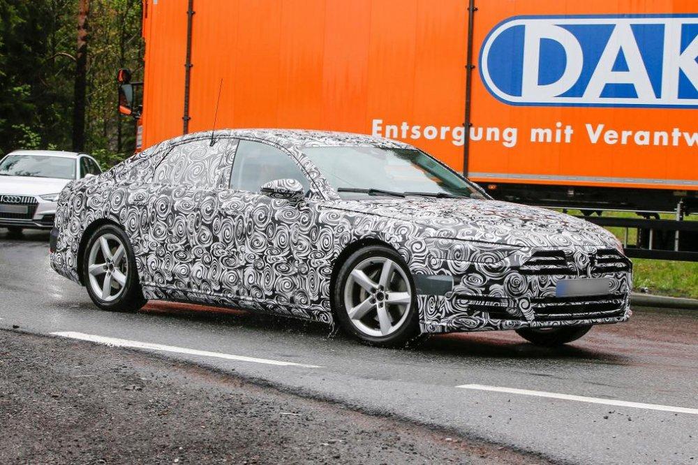 Bat ngo lo anh Audi A8 2018 voi 'tuyet chieu' do xe tu dong truoc ngay ra mat hinh anh 3