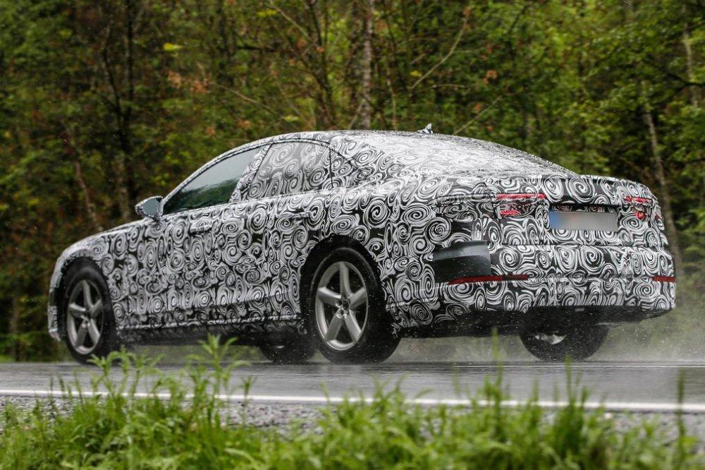 Bat ngo lo anh Audi A8 2018 voi 'tuyet chieu' do xe tu dong truoc ngay ra mat hinh anh 4
