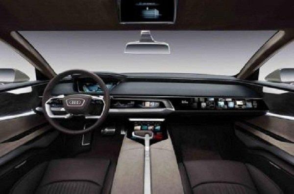 Bat ngo lo anh Audi A8 2018 voi 'tuyet chieu' do xe tu dong truoc ngay ra mat hinh anh 5