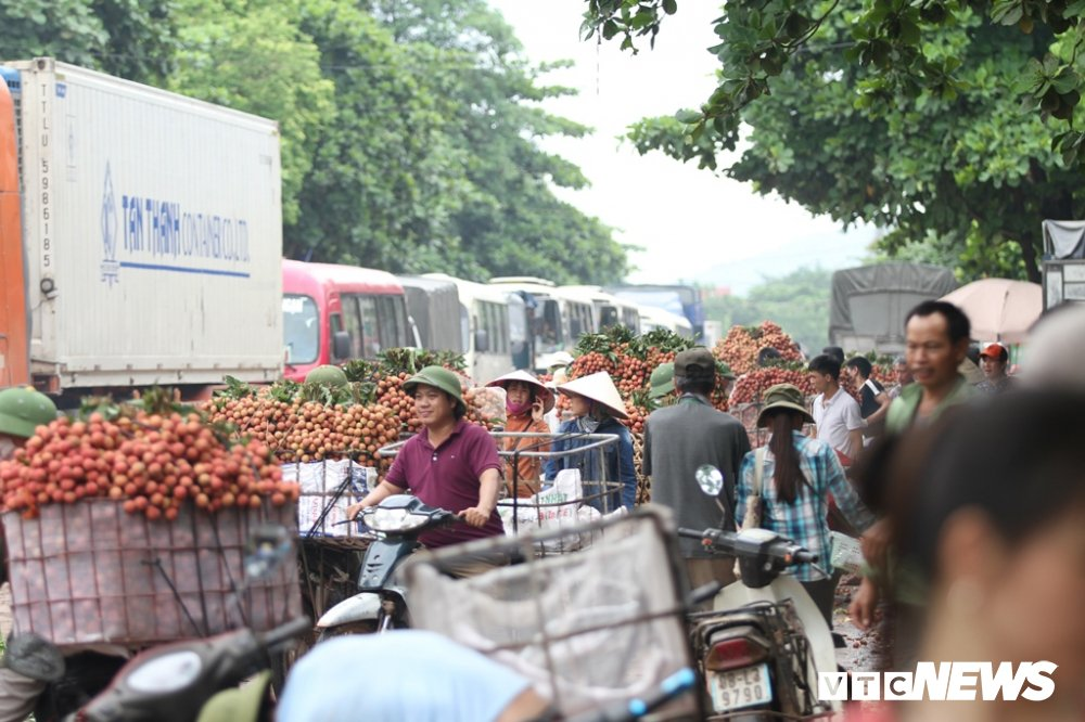 Anh: Dan Bac Giang xep hang ca tieng dong ho cho can vai hinh anh 4