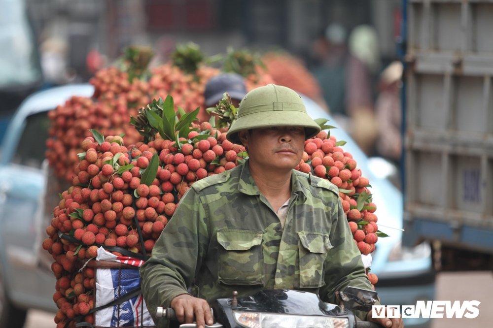 Anh: Dan Bac Giang xep hang ca tieng dong ho cho can vai hinh anh 6