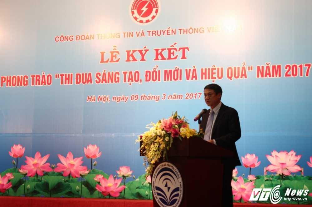 Cong doan TT&TT Viet Nam phat dong phong trao thi dua sang tao, doi moi hinh anh 1