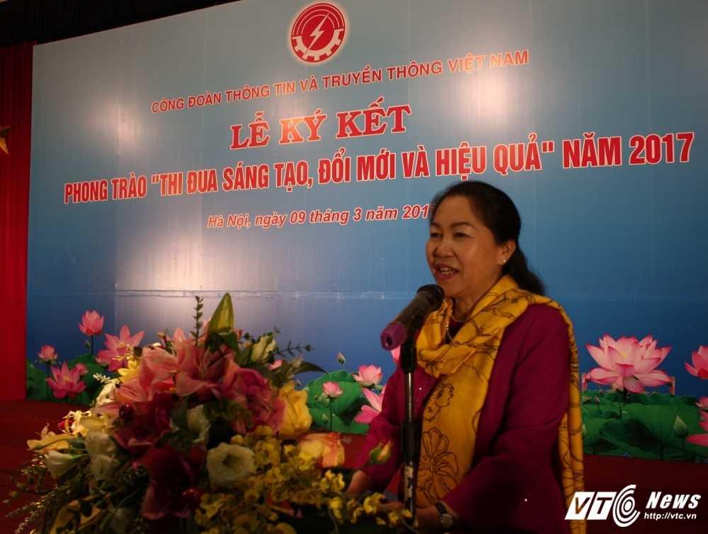 Cong doan TT&TT Viet Nam phat dong phong trao thi dua sang tao, doi moi hinh anh 2