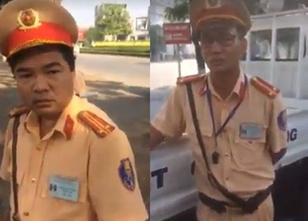 Tai xe bi danh khi lam viec voi CSGT: Cong an Vinh Phuc phan bac hinh anh 1