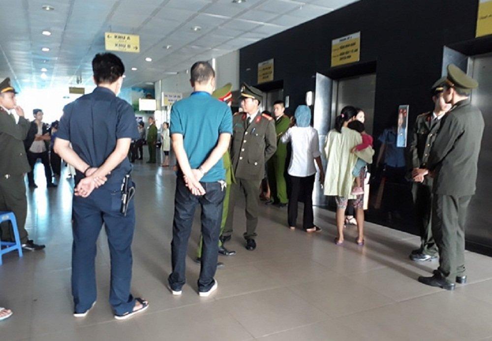 Be 2 thang tuoi chet bat thuong o BV San Nhi Bac Ninh: Dieu dong cong an dam bao an ninh benh vien hinh anh 1