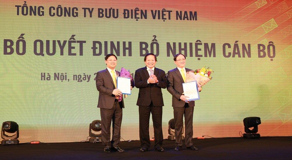 Bo nhiem Chu tich Hoi dong thanh vien Tong cong ty Buu dien Viet Nam hinh anh 1