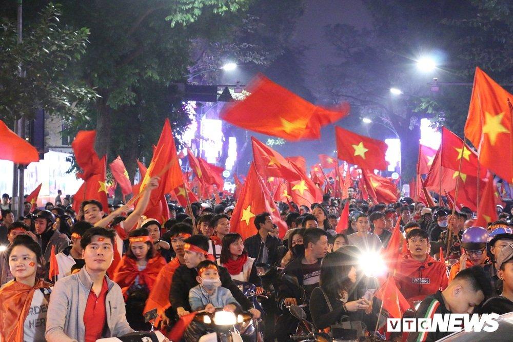 U23 Viet Nam da tran chung ket: Bo Cong an ra cong dien khan hinh anh 1