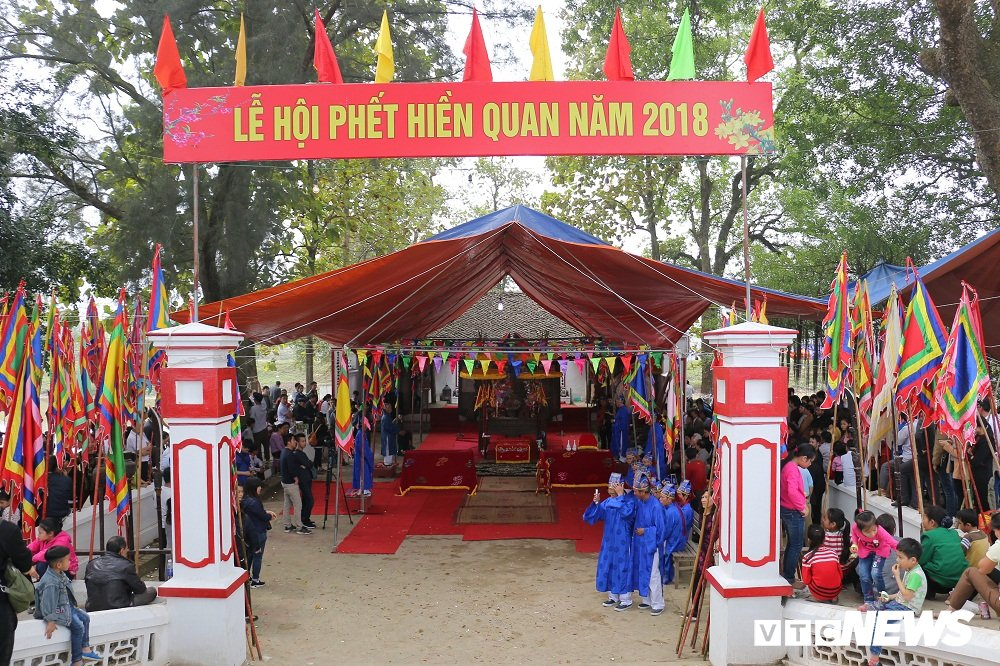 Anh: An ninh that chat truoc gio dien ra hoi cuop Phet Hien Quan 2018 hinh anh 4