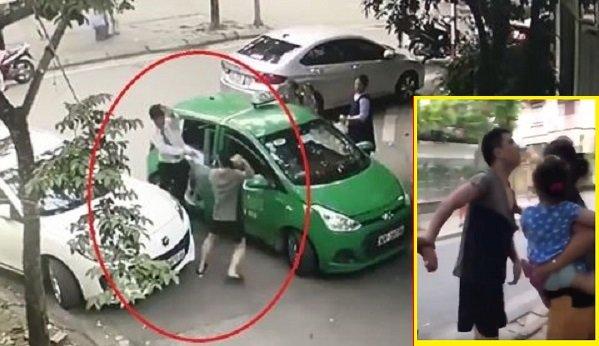 Tai xe taxi bi danh phun mau: Cong ty Mai Linh de nghi co quan chuc nang vao cuoc hinh anh 1