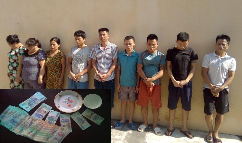 Dot kich soi bac, bat qua tang 9 nguoi dang sat phat o Thanh Hoa hinh anh 1