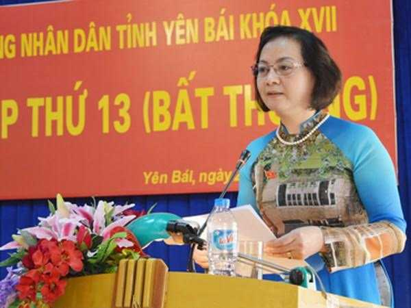 100% phieu bau Chu tich Yen Bai lam Bi thu Tinh uy hinh anh 1