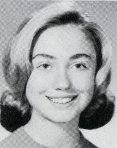 Hinh anh hiem thoi hoc sinh cua ba Clinton hinh anh 6