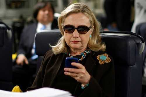 Lo buc anh co the huy hoai su nghiep chinh tri cua ba Clinton hinh anh 1