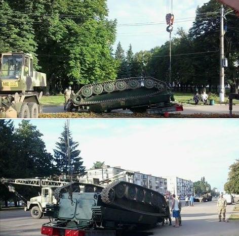 Ten lua Ukraine 'nga chong vo', phoi bung giua pho hinh anh 1
